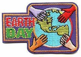 Cub Girl Boy EARTH DAY Embroidered Iron-On Fun Patch Crests Badge Scout ... - $4.90