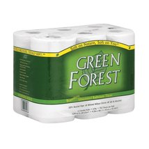Green Forest Bathroom Tissue - Double Roll 2 Ply - Case of 4 - 12 - $61.99+