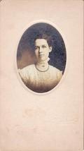 Charlotte Learned Cabinet Photo of Beautiful Woman - East Orange, NJ (1909) - $17.50