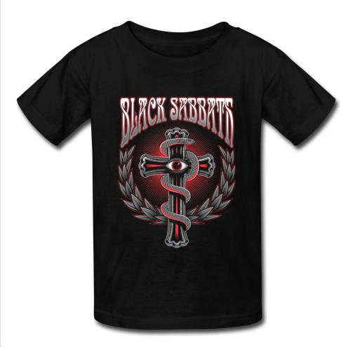 Black Sabbath Rock Band T Shirt