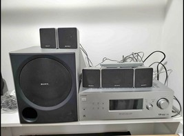 Bundle Sony STR-K700 5.1 Channel Receiver With 5 Speakers And Remote/ - $150.00