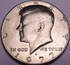 United States Unc 1977-D Kennedy Half Dollar - $3.80