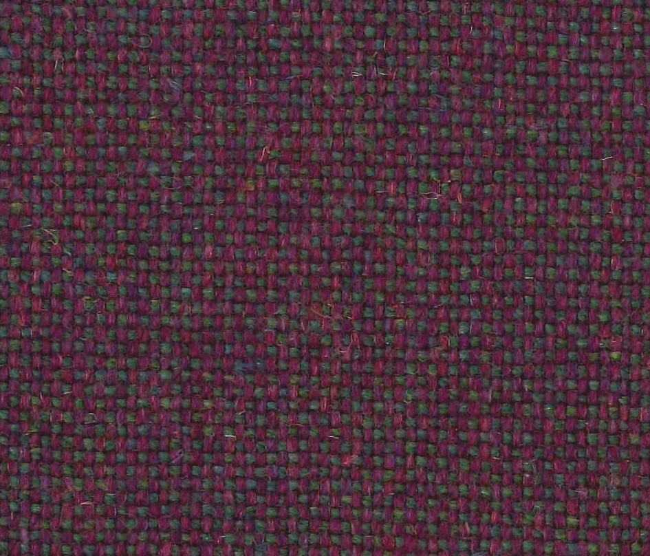 2.375 yds Camira Upholstery Fabric Main Line Flax Hillingdon Purple MLF41 RU