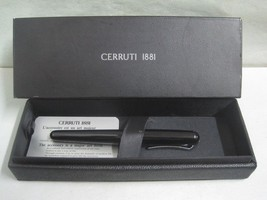Cerruti 1881 Ballpoint Black Pen with Box - $45.24