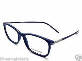 Giorgio Armani AR 7006 5040 Blue Plastic Italy Eyeglasses Frames 54-16-1... - $91.77