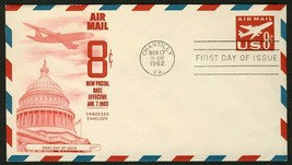 #UC36 8c Jet Airliner, Fleetwood Fdc **Any 4=FREE Shipping** - $1.25