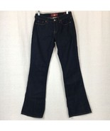 Lucky Brand Jeans Womens Sofia Boot Cut Cotton Stretch Dark Wash Size 4 - $22.93