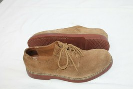 BASS  Size 9.5 M EXETER BUCS BROWN SUEDE LACE UP CASUAL SHOE MENS 9 1/2 - $19.80