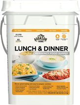 Lunch and Dinner Variety Pail Emergency Food Supply 4-Gallon Pail - $110.00