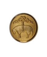 Brooks Brothers Golden Fleece Sheep Metal Main Front Replacement Button ... - $8.86