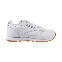 Reebok Classic Leather Little Kid's Shoes White-Gum V69622 - $55.00