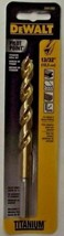 "Dewalt DW1392 13/32"" Pilot Point Titanium Drill Bit - $3.22"