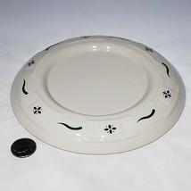 Longaberger Pottery Woven Tradition Green Pillar Candleholder Plate Trivet EUC - $11.95