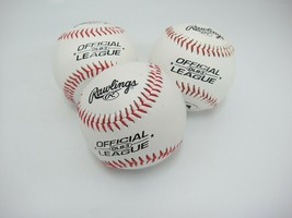 Rawlings OLB3 Lot of 3 Official Recreational League Baseballs 5 oz 9 inc... - $9.89