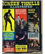 ORIGINAL Vintage 1964 Screen Thrills Illustrated Magazine #7 Captain Ame... - $34.64