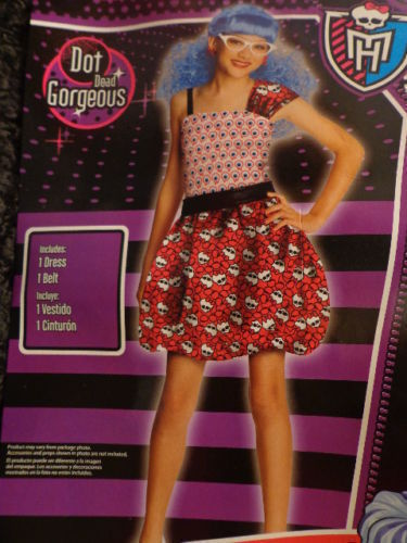 Rubies Girls Monster High Ghoulia Yelps Daughter of the Zombies Costume