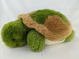 "Unipak Turtle Plush 13"" Green Brown Stuffed Animal Toy - $9.95"