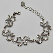 Silver Bracelet 925 Wings of Butterfly Zircon by Maria Ielpo Made in Italy image 3