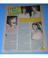 Leif Garrett Tiger Beat Star Magazine Photo Clipping Vintage 1979 - $12.99