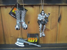 KISS / GENE SIMMONS  DEMON Ornaments - Set of 3 - New with Tags - $19.95