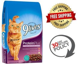 9Lives Protein  Plus Dry Urinary Care Cat Food Balanced Vitamins Chicken... - $9.98