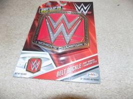 Jakks WWF Wrestling Clip On Belt Buckle Women's Champion (New in Box) - $9.89