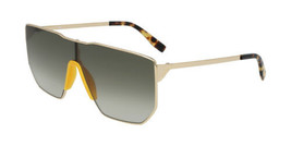 NEW Lacoste L221S 714 Gold Shield Sunglasses 58mm with Lacoste Case - $113.80