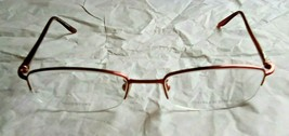NEW Valentino Made in Italy 5269 05U Women's Red Eyeglass Frames 50-18-1... - $59.84