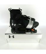 $160 Under Armour C1N MC Football Cleats Black/Silver Newton 3000175-001 - $39.72+