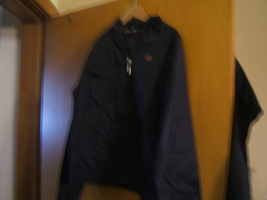 Gap Girl's Jacket With Hood Size 10 Navy Blue 100% nylon NEW - $25.00
