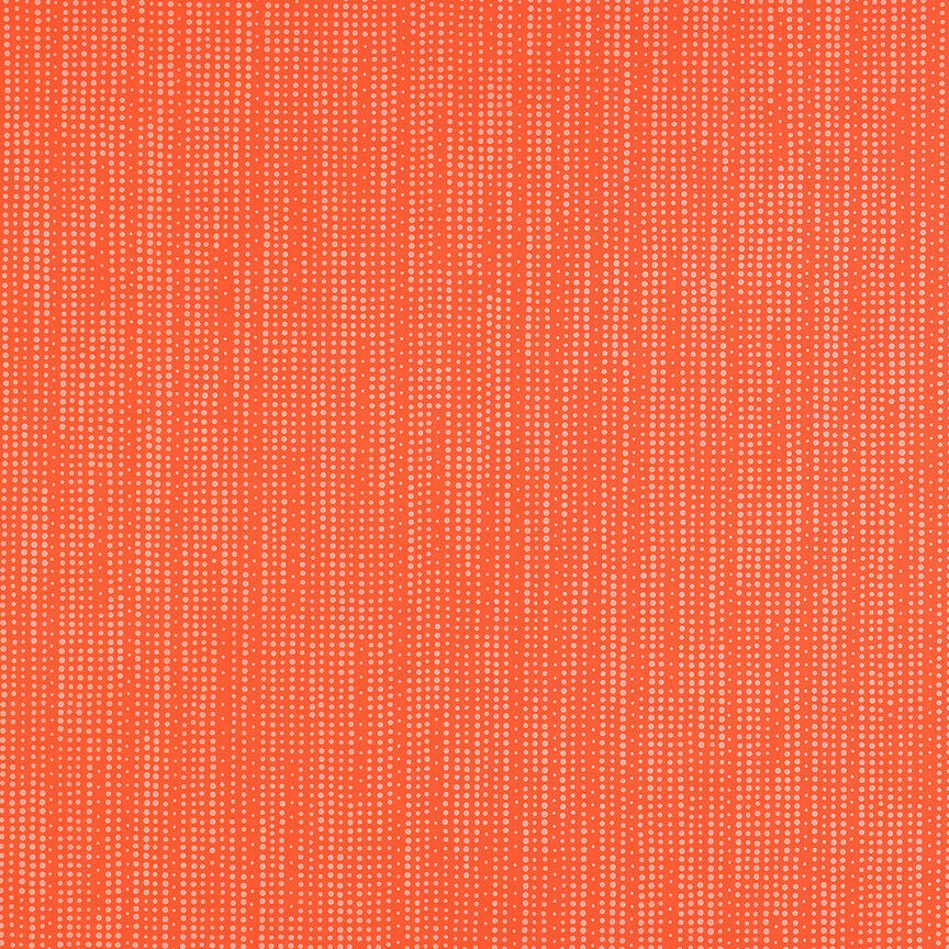 Maharam Upholstery Fabric Ellipsis Open Orange Dot Polyurethane 1.75 yds DH