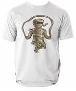 Mummy Mens T Shirt Workout Retro 8bit Pixel Art Gym Hard Strong 8 colour... - $10.66+
