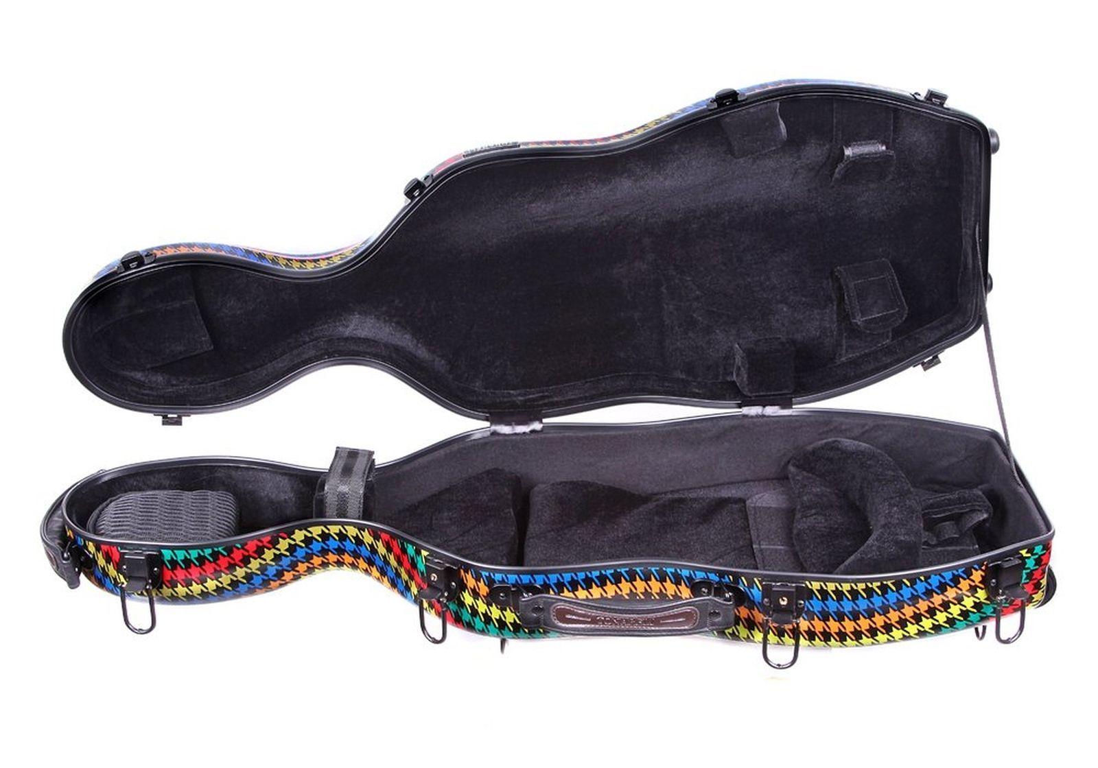 """Tonareli Fiberglass Viola Case w/ Wheels - Special Edition """"Malibu"""" VAF1019"""