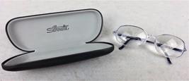 Silhouette Glasses Frames Plastic Austria Blue Eyeglasses Case Included ... - $24.25