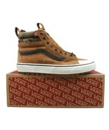 Vans Sk8-HI MTE 2.0 DX All Weather Sneakers Brown White NEW Mens Multi S... - $74.95
