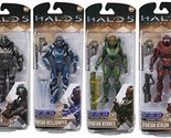 Halo 5: Guardians Series 2 Spartan Athlon, Buck, Hermes, Helljumper Action Figur