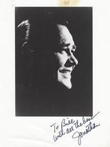 """Jonathan Winters"" Hand Signed B & W Publicity Photograph - (sku#4923) - $24.50"