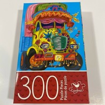 """CARDINAL 300 Piece Puzzle 14"""" x 11"""" FANCY TRUCK Challenging - NEW - $11.25"""