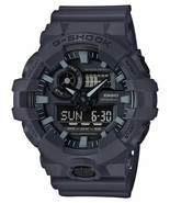 Casio GA700UC-8A Men's XL Utility Series Grey Alarm Chronograph G Shock ... - $77.72