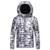 2018 Winter New Thin Down Jacket Short Section Men's Hood Down Jacket Men's Slim image 1