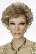 Lynn 18-22 Blonde Medium Short Jon Renau Wavy Wigs - $103.95