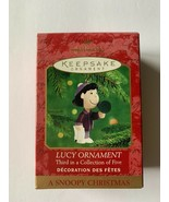 Hallmark Keepsake Hallmark Lucy Ornament A Snoopy Christmas 3 of 5 Peanu... - $12.19