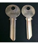 VTG Lot of 2 Yale GD Metal Key Blanks Uncut Keys Made USA - $4.90
