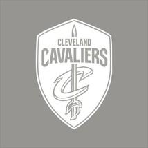 Cleveland Cavaliers #8 NBA Team Logo 1Color Vinyl Decal Sticker Car Window Wall - $5.64+