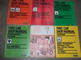 1980 Ford Mustang & Capri Repair Service Shop Workshop Manual Set OEM W ... - $74.20