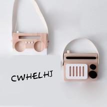 CWHELHJ Nordic Wood Tape Recorder Children 's Toys Radio - $35.95
