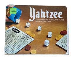 Yahtzee Board Game Family Night 1978 Vintage VTG Fun - $19.75