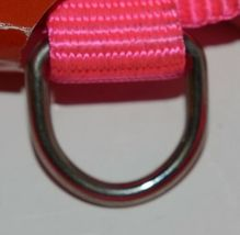 Valhoma 733 HP 3/4 inch Adjustable Dog Harness Hot Pink Medium Nylon Pkg 1 image 4