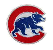Chicago Cubs World Series MLB Baseball Fully Embroidered Iron On Patch Bear - $6.87+