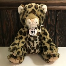 "Build A Bear Workshop WWF Leopard Plush Stuffed Animal 12"" 2012 - $21.78"